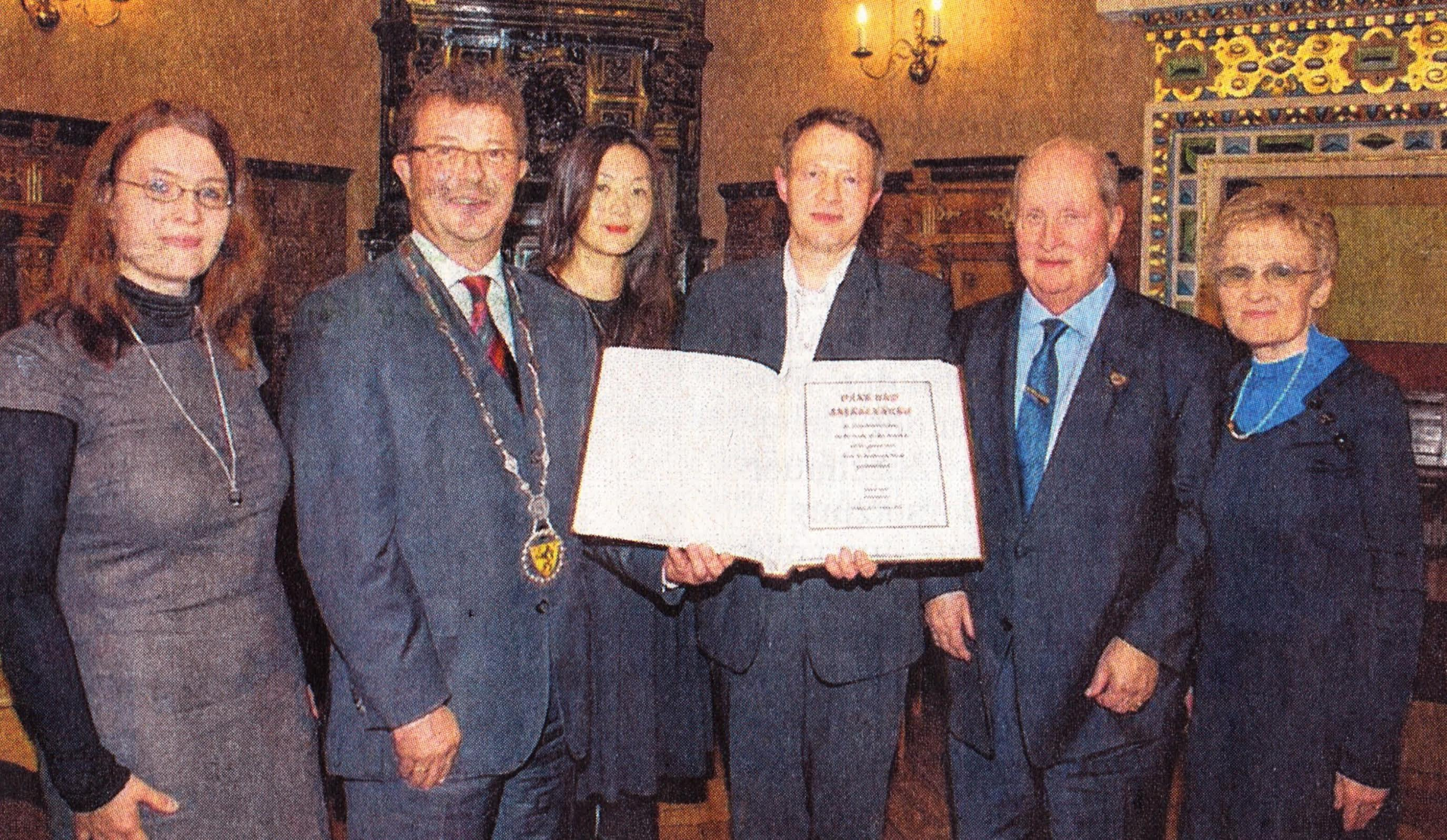 2012 Book of Honour Oschatz