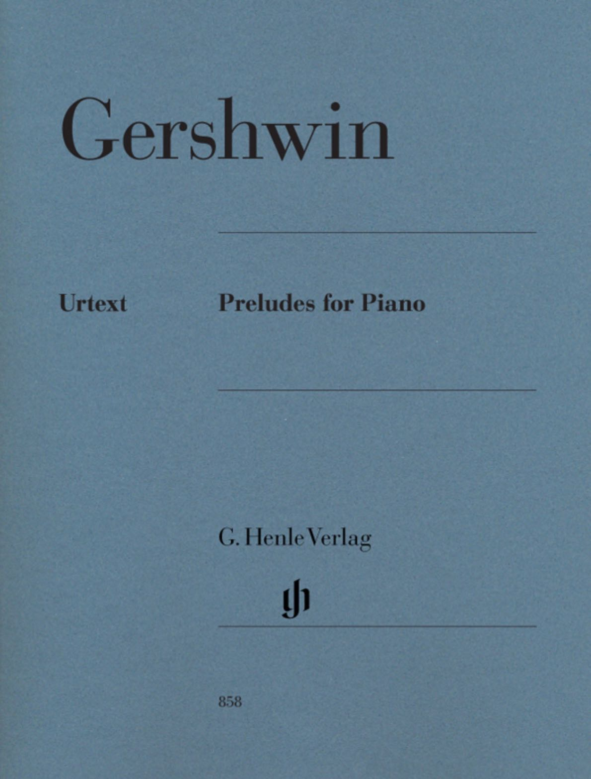 Henle Gershwin Preludes for Piano